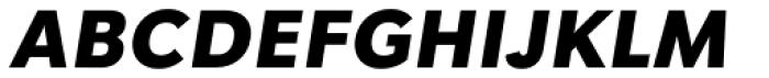 Tafel Sans PC Bold It Font UPPERCASE