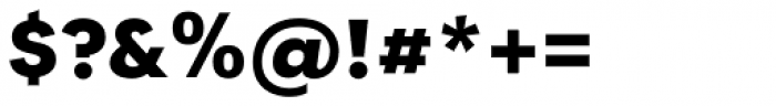 Tafel Sans PC Bold Font OTHER CHARS