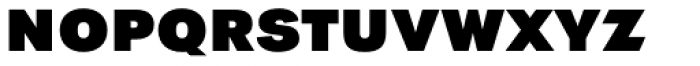 Tafel Sans PC Extra Bold Font LOWERCASE