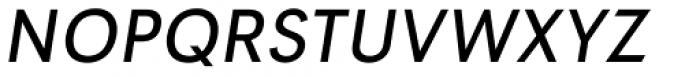 Tafel Sans PC Regular It Font UPPERCASE