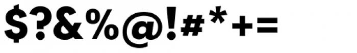 Tafel Sans Pro Bold Font OTHER CHARS