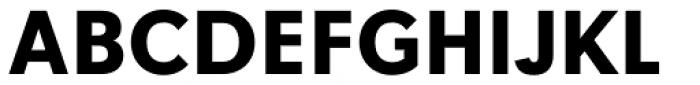 Tafel Sans Pro Bold Font UPPERCASE
