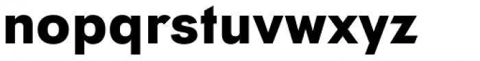 Tafel Sans Pro Bold Font LOWERCASE
