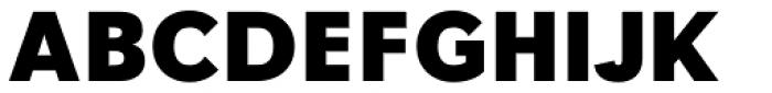 Tafel Sans Pro Extra Bold Font UPPERCASE