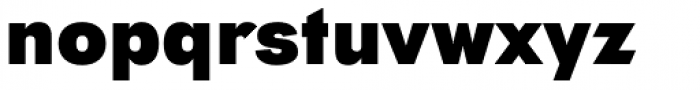 Tafel Sans Pro Extra Bold Font LOWERCASE