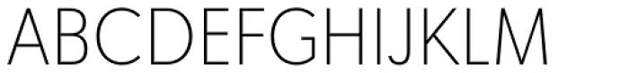 Tafel Sans Pro Extra Light Font UPPERCASE