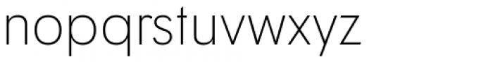 Tafel Sans Pro Extra Light Font LOWERCASE