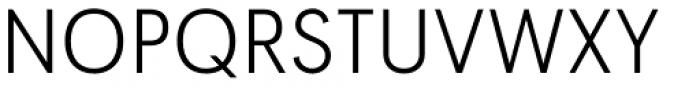 Tafel Sans Pro Light Font UPPERCASE