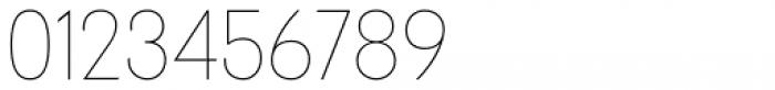 Tafel Sans Pro Thin Font OTHER CHARS