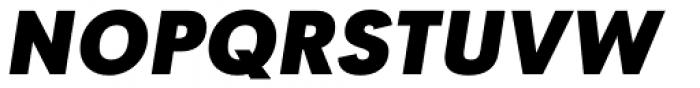 Tafel Sans SC Extra Bold It Font UPPERCASE