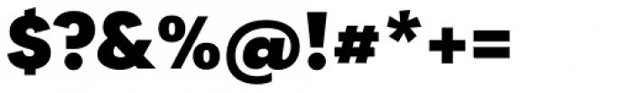 Tafel Sans SC Extra Bold Font OTHER CHARS