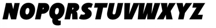 Taffee Black Italic Font UPPERCASE