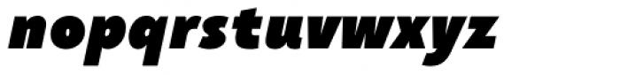 Taffee Black Italic Font LOWERCASE