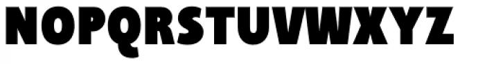 Taffee Black Font UPPERCASE