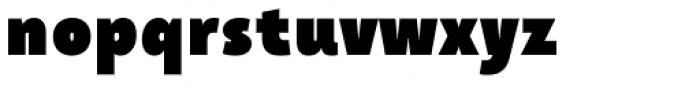 Taffee Black Font LOWERCASE