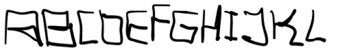 Tag Hand Graffiti Trash Font UPPERCASE