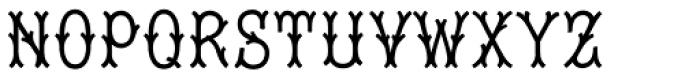 Tagliato Monogram Solid (25000 Impressions) Font UPPERCASE