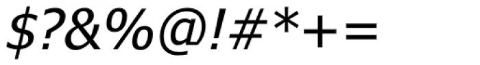 Tahoma Italic Font OTHER CHARS