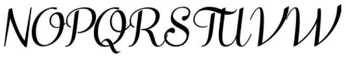 Taiga Italic Font UPPERCASE