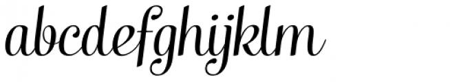 Taiga Italic Font LOWERCASE