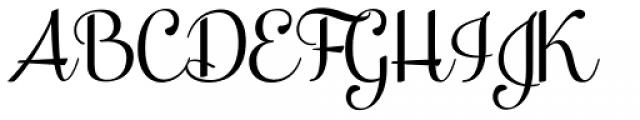 Taiga Font UPPERCASE
