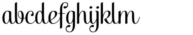 Taiga Font LOWERCASE