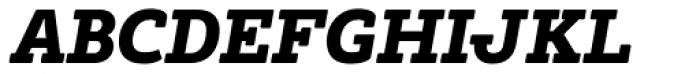 Tailor Italic Font UPPERCASE