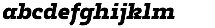 Tailor Italic Font LOWERCASE