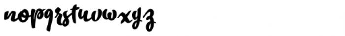 Takeaway Black Font LOWERCASE