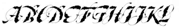 Taliography Font UPPERCASE