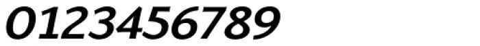 Talis SemiComp Heavy Italic Font OTHER CHARS