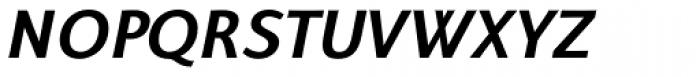 Talis SemiComp Heavy Italic Font UPPERCASE