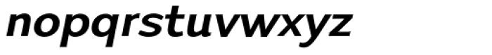 Talis SemiComp Heavy Italic Font LOWERCASE