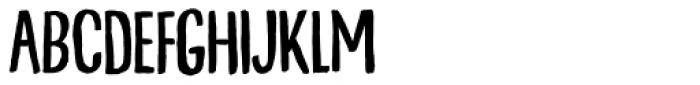 Talkback Font UPPERCASE