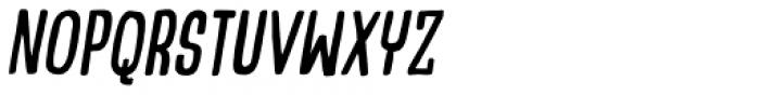 Talking Cat Condensed Italic Font UPPERCASE