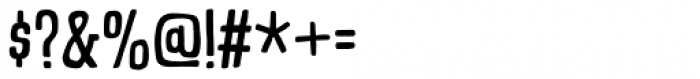 Talking Cat Condensed Regular Font OTHER CHARS