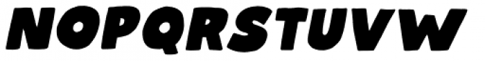 Talking Cat Regular Italic Font UPPERCASE