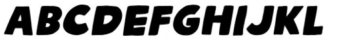 Talking Cat Regular Italic Font LOWERCASE