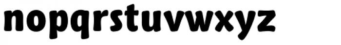 Talking Five Heavy Font LOWERCASE