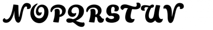 Talks Font UPPERCASE