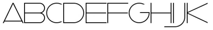 Taller Evolution Font LOWERCASE