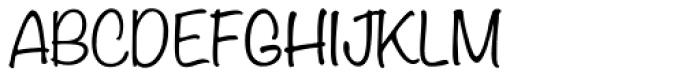 Tally Text Light 1 Font UPPERCASE