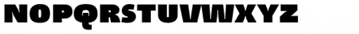 Tang Black SCOSF Font LOWERCASE