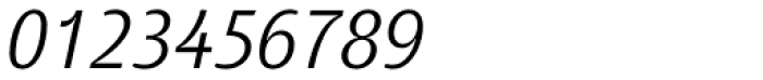 Tang Light Italic Font OTHER CHARS