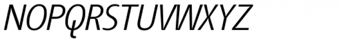 Tang Light Italic Font UPPERCASE