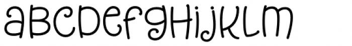 Tangelo Bold Font LOWERCASE