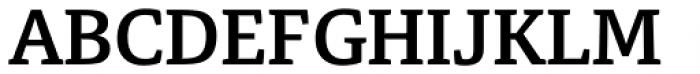Tangent Bold Font UPPERCASE