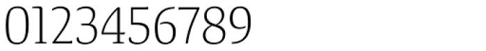 Tanger Serif Narrow Light Font OTHER CHARS