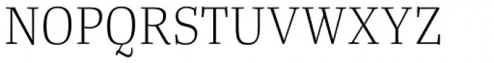 Tanger Serif Narrow Light Font UPPERCASE