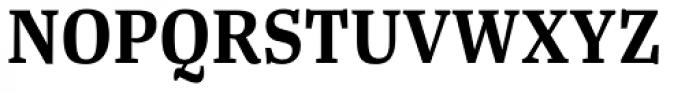Tanger Serif Narrow SemiBold Font UPPERCASE